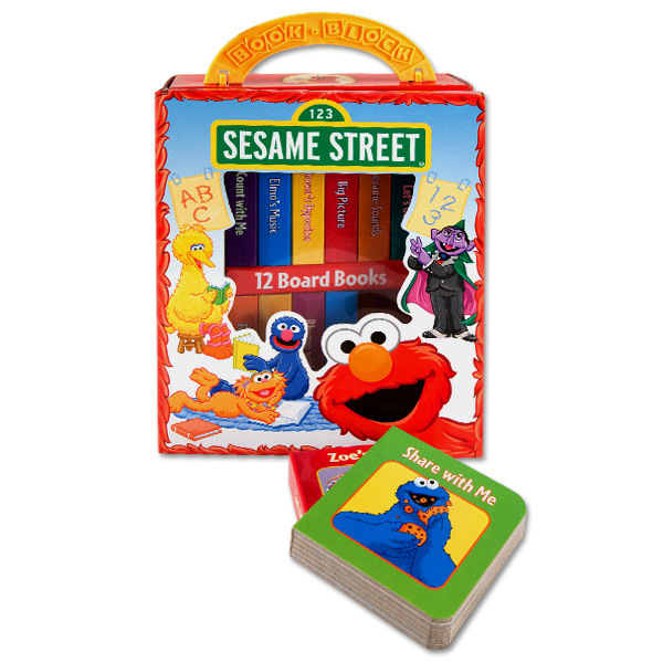 My First Library - Sesame Street Block Books