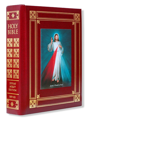 Catholic Bible - Burgundy Binding