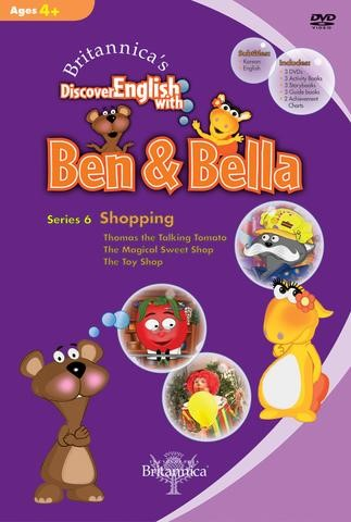Discover English with Ben & Bella - Shopping